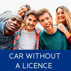 Car without a licence