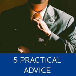 practical advise