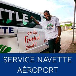 Service navette shuttle aéroport
