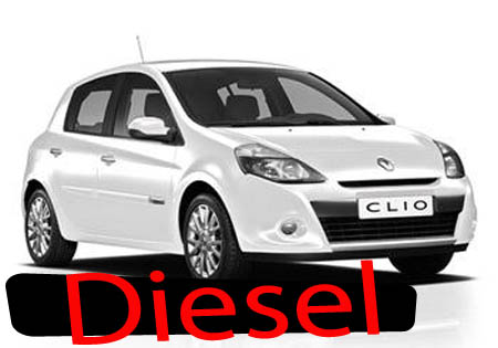 Clio or Fiesta Diesel 5 seats or similar