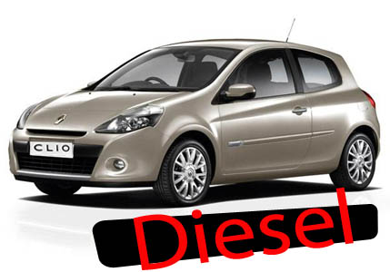 Clio DIESEL 3 seats or similar