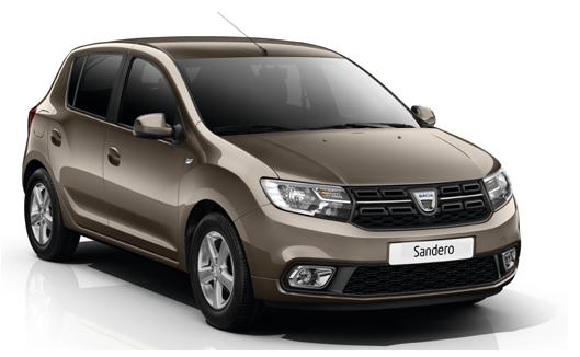 Dacia Sandero 5 doors AUTOMATIC TRANSMISSION