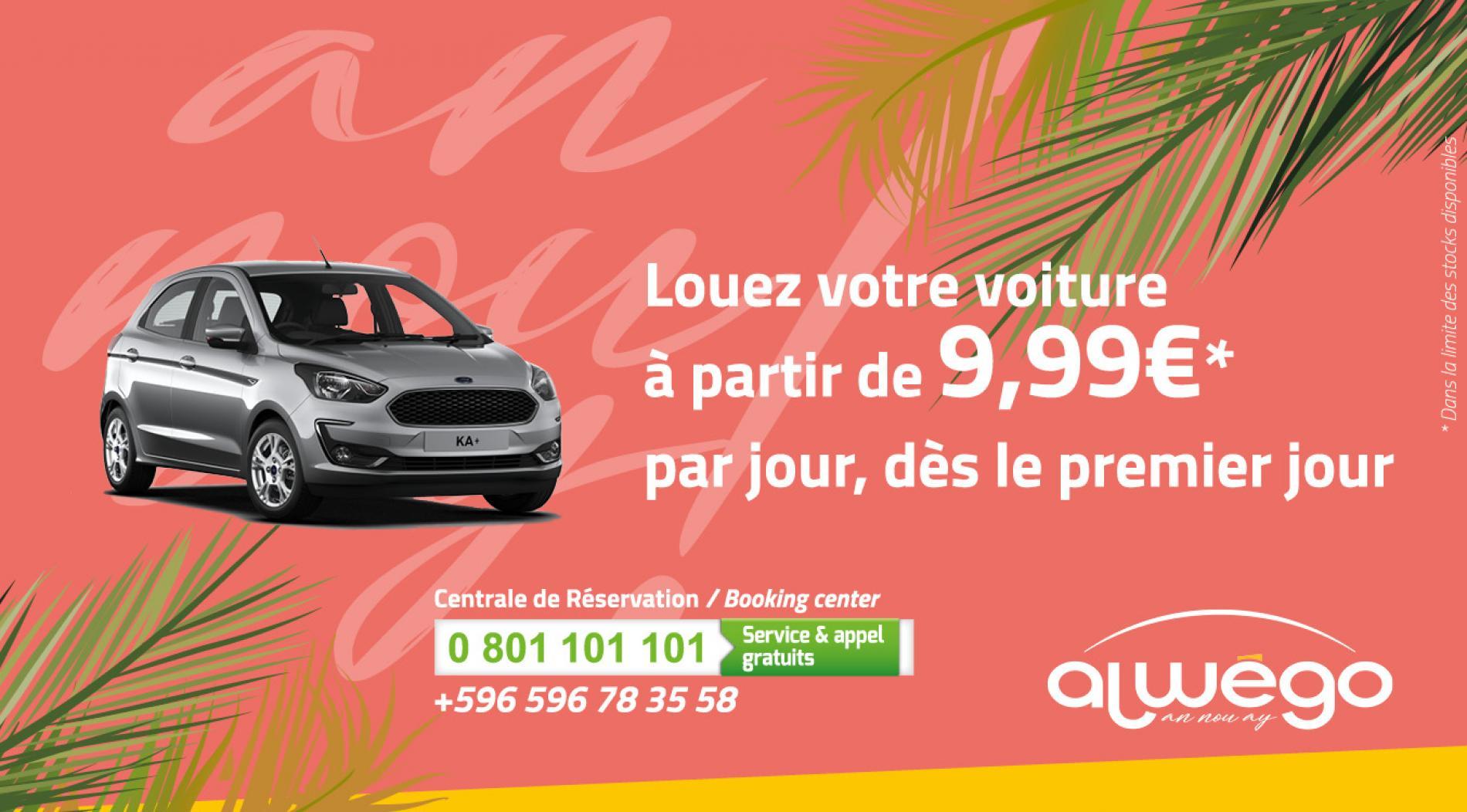 Paques en famille avec Alwego Martinique Location de voiture
