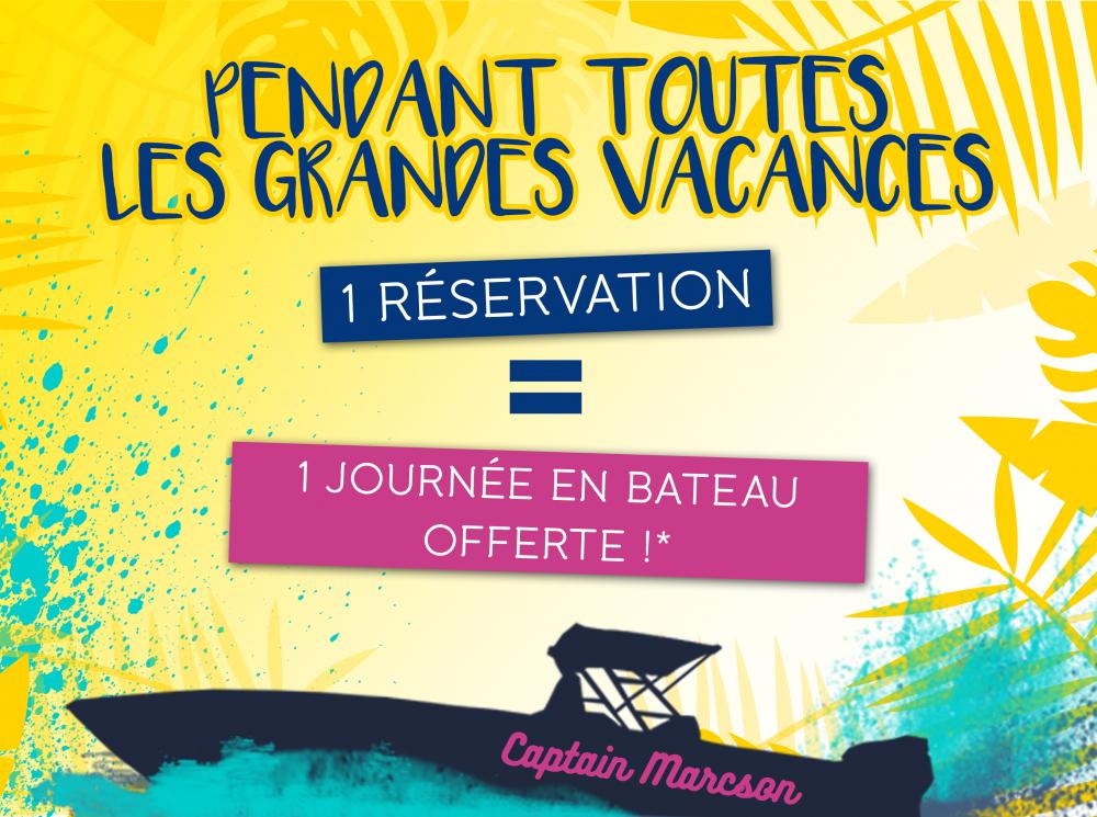 Sortie Bateau offerte avec votre location de voiture à la Martinique avec Saint Pierre Locations